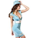 Hot style uniforme Stevardess aérienne Lingerie Sexy Lingerie Sexy Hot lingerie sexy nuisette