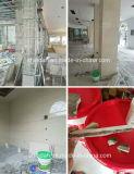 Пол и стены кирпичные плитки клей /плитки клея