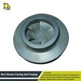 Piezas inoxidables del bastidor del impulsor de la pieza de acero fundido de la precisión Unnormalized de Cusstomized