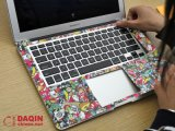 Laptop Stickers를 위한 3D Custom Sticker Software와 Printer