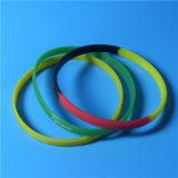 Wristband силикона печатание высокого качества таможни 5mm экранированный шелком тонкий