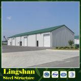 Il magazzino Be è fatto della struttura d'acciaio chiara