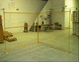 6ftx9.5FT Canadá Painel cerca temporária de pintura por pó/construção temporária a Régua