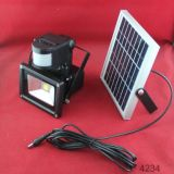 Nuovo Products Solar LED Flood Light con Sensor
