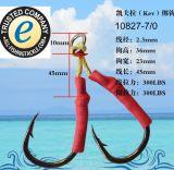 Les pêcheurs de bonne qualité de palan de pêche choisissent l'attrait lent de pêche de gabarit