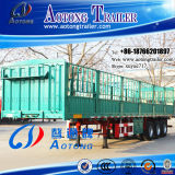 De Semi Aanhangwagen van uitstekende kwaliteit van de Staaf van het Pakhuis van de Staak van de Omheining van het Vervoer van het Vee van 2 As 40t (LAT9300CLXY)