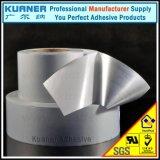 50 Mikron-silbernes Matthaustier-Klebefilm für Drucken-Aufkleber