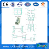 6000 Grad Aluminum Window Frame Covers Profile mit All Finish Available