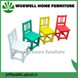Cadeira de crianças de desenho animado em madeira para crianças de infância (WG-1065)