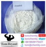 Salida sin procesar elevada de la caja fuerte del polvo/el 100% de Oxymetholones Anadrol de la pureza