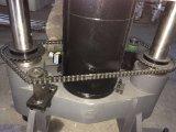 maquinaria elástica do teste 60ton com computador e impressora
