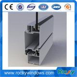 Perfil de 6000 del grado de ventana de aluminio cubiertas de marco con todo el final disponible