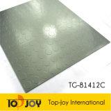 Garaje patrón en relieve de puntos de baldosa de vinilo (TG-81412C)