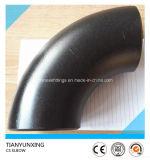 ANSI B16.9 gomito saldato estremità del acciaio al carbonio da 90 gradi