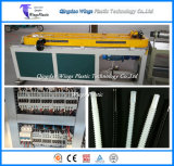16-50mm 플라스틱 밀어남 선 PE Single-Wall 물결 모양 관 생산 라인