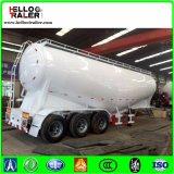 3 Semi Aanhangwagen van de Tanker van het Cement van de Vliegas van de V-vorm 40m3 ~ van de as 60m3 De Bulk
