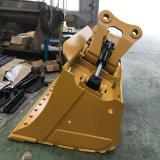 Cat320 1800mmの掘削機の傾きの溝のクリーニングのバケツ