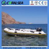 Foldable PVC/Hypalon 팽창식 고무 어업 팽창식 배