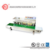 Machine continue de cachetage de sac avec l'imprimante (DBF-810M)