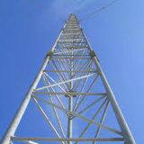 Рентабельная башня стали решетки связи Guyed