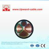 Câble de fil élevé de pouvoir d'isolation de PVC de Quanlity pour la construction