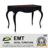 Резиновые цельной древесины кофейный столик мебель (EMT-CT01)