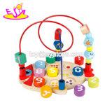 Neue heißeste pädagogische Mathematik-hölzernes zählenspielzeug für Kleinkinder W11b169