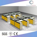 Sitio de trabajo moderno de la oficina del escritorio del grupo de los muebles