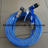 Mangueira de jardim de PVC Fornecedor profissional com pistola de água