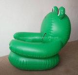 膨脹可能な空気ソファーPVCは子供のための肘掛け椅子を群がらせた