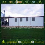 Edifício de estrutura de aço industrial pré-fabricado de baixo custo