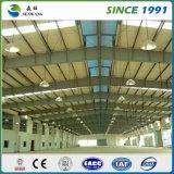Edificio del metal para la oficina de escuela del taller del almacén de la estructura de acero