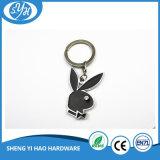 Het aangepaste Leer Keychain van het Embleem van de Auto voor PromotieKeychain