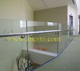 Kundenspezifischer freie weiße Dusche-Bad-ausgeglichene Tür-Glasbildschirm-Lieferant