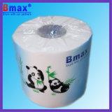 Papel de tejido modificado para requisitos particulares insignia de cuarto de baño del papel higiénico de 4 Rolls