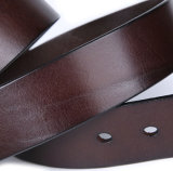 Fabrik Soem-Entwurfs-preiswerter Preismens-Entwerferbrown-lederne Riemen
