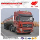 De la plaque Q235 en acier de camion-citerne acide acétique de charge de remorque semi