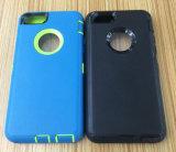 Deux dans une vente directe d'endroit de dispositif de couverture pour l'iPhone neuf 7plus de Duel-Couleur de l'iPhone 7