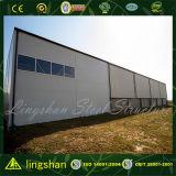 Qingdao Pre-Dirigió el edificio de la estructura de acero del bajo costo/la construcción del almacén