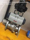 Válvula de esfera de aço pneumática