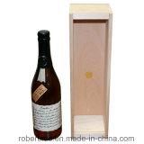 販売のための未完成のEmpotyの木のワインボックス