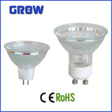 Glass CE aprobó Reflector LED GU10 / MR16