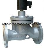 Elettrovalvola a solenoide normalmente chiusa del vapore dell'acciaio inossidabile 110V/220V