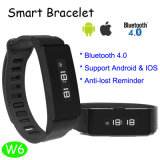 Neuestes intelligentes Bluetooth Armband mit Multi-Funktionen (W6)