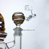 マトリックスのPerc 14.5mmの女性の接合箇所が付いているガラス配水管のガラス管のすてきな卵