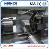 Inblockの鋳造物の旋盤のベッドの水平の金属CNCのタレット旋盤機械Ck6132A