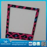 Moda Papel de PVC marco de fotos magnético