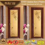 Chinesische Art-Sandelholz-hölzernes Korn-dekorative Flügelfenster-Aluminiumtür