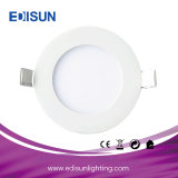 La mejor alta calidad fina redonda de la luz del panel del precio 12W LED