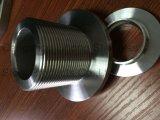 DIN2999 raccordo per tubi in acciaio inox, flangia